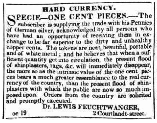 The New York Evening Post, Saturday, November 18th, 1837