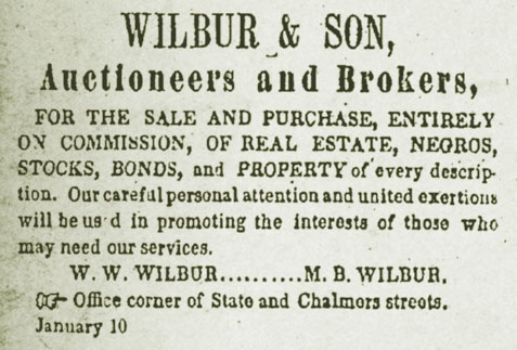 Wilbur & Son Auctioneers and Brokers