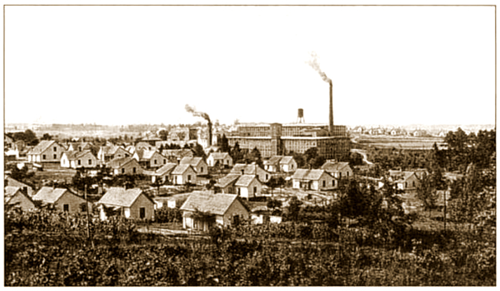Image result for mill village
