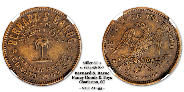 Miller SC-2 Chibbaro SC-1305-E Bernard S. Baruc Charleston South Carolina SC