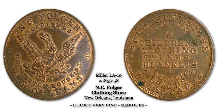 Miller LA-10 N.C. Folger