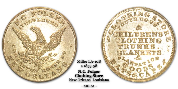 Miller LA-10B N.C. Folger