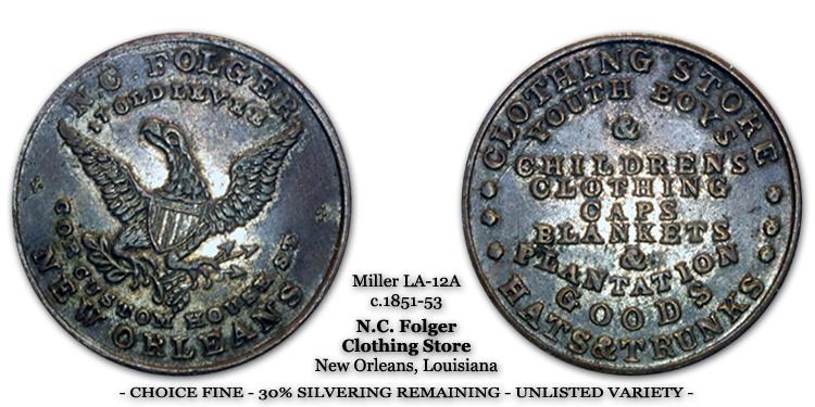 Miller LA-12A N.C. Folger Unlisted Variety