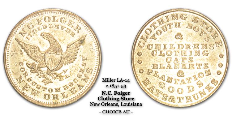 Miller LA-14 N.C. Folger