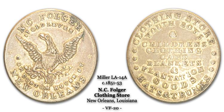 Miller LA-14A N.C. Folger