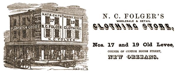 N.C. Folger's Clothing Store