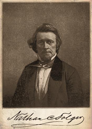 Nathan C. Folger c.1855