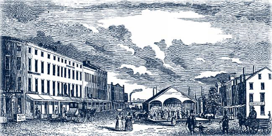 Norfolk Virginia in the Middle 19th Century