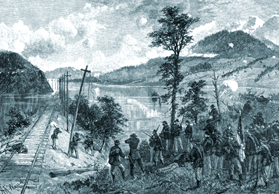 Battle of Mill Crek Gap on the Western & Atlantic Rail Road