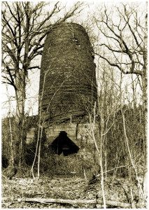 Ruins of Allaire's 1831 Blast Furnace