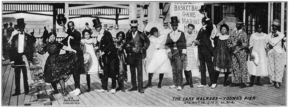 The Cake Walkers - Young's Pier, Atlantic City New Jersey, U.S.A.