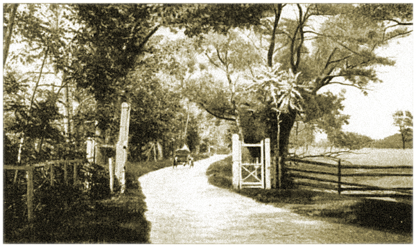 Entrance to the Howell Works Garden. Photograph circa 1920s
