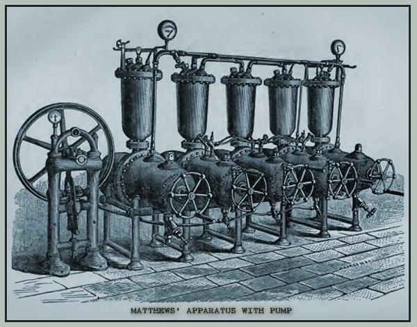 Matthews' Apparatus with Pump