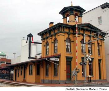 Gettysburg Electric Railway Token Photograph Carlisle Station