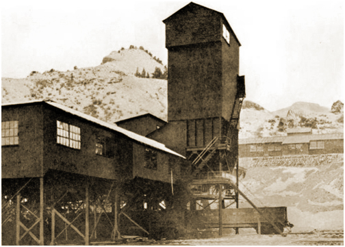 Carbon Coal and Coke Company Hiawatha Utah Miners Tipple