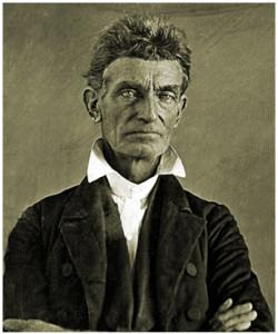 Portrait of John Brown Abolitionist