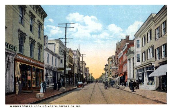 Dutrow's Soda Fountain North Market Street Frederick MD