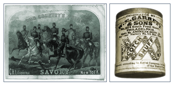 Our Country's Pride Savory Tobacco, W.E.Garrett and Sons Tobacco