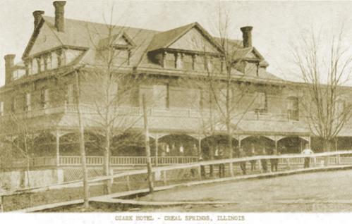 Ozark Hotel, Creal Springs Illinois