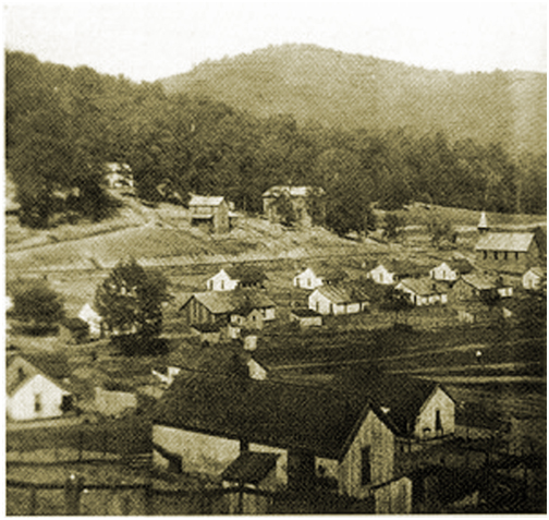 Photo Photograph Packard Kentucky Coal Camp Mining Town