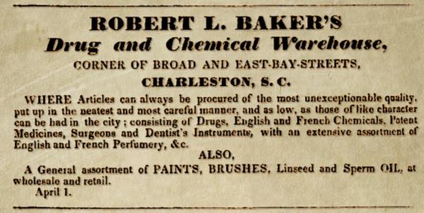 Robert L. Baker's Warehouse Drug & Chemical Warehouse