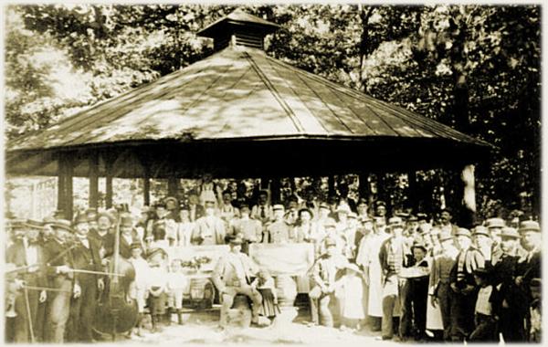 Photograph of Washington's Schuetzen Park