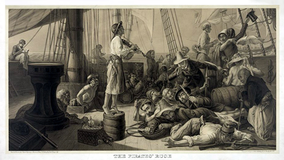 The Pirates' Ruse Luring a Merchantman In The Olden Days, c.1896