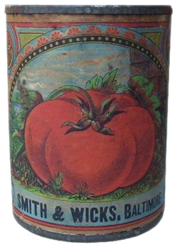 Smith & Wicks Canning Company - Tomatoes