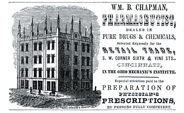 William B. Chapman Pharmaceutist