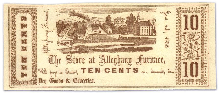 The Store At Alleghany Furnace - 10 Cents