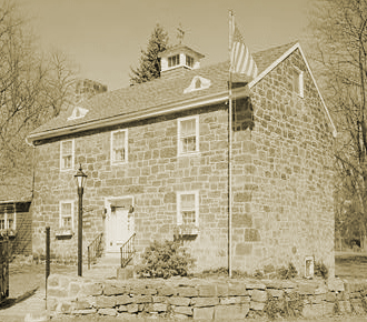View showing Alleghany Store and Office built c.1840 Altoona, Blair County, Pa