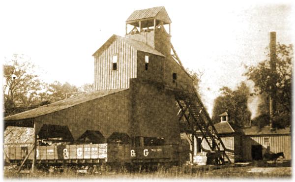 Coal Tipple at Dewar, Oklahoma