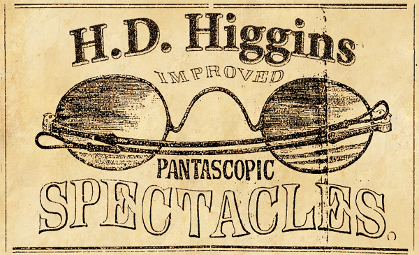 H.D. Higgins Improved Pantascopic Spectacles