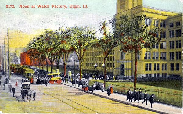 Noon At Elgin Watch Factory