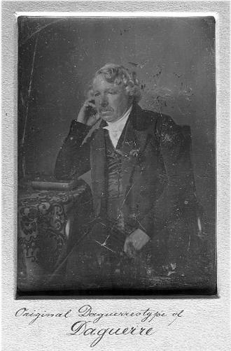Meade's Daguerreotype of Louis Daguerre