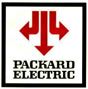 Late 1970s-Early 1980s Packard Electric Logo