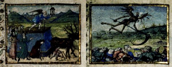 Petrarch's Triumphs - A 15th Century Manuscript's Depiction of Time and Death