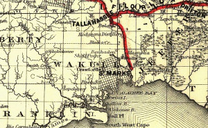 Tallahassee Rail Road Map