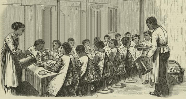 Typical African American Orphanage of the Day