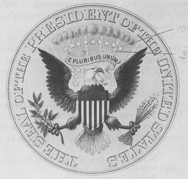 Great Seal of the United States, by Bailey, Banks & Biddle