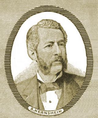 Portrait of S. Hernsheim