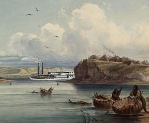 Steamboat along the Missouri
