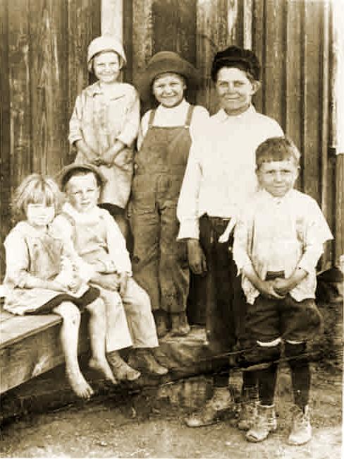 Children in Thurber Texas