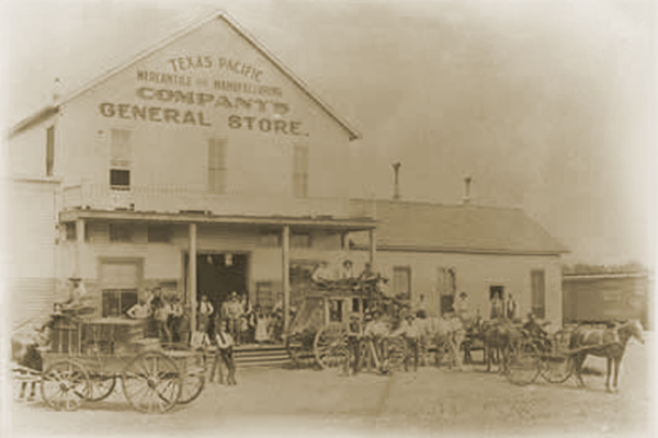 Texas Pacific Mercantile & Manufacturing Company Store