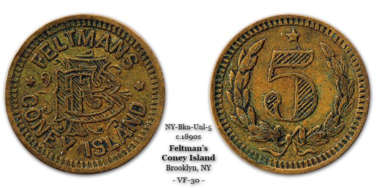 Feltman token 5-cents