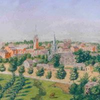Panoramic of Columbia, South Carolina c.1859, Augustus Grinevald