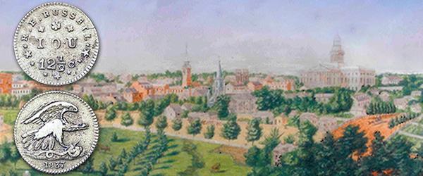 Panoramic of Columbia, South Carolina c.1859, Augustus Grinevald