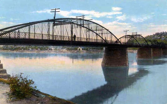 Kittanning Bridge in 1930s
