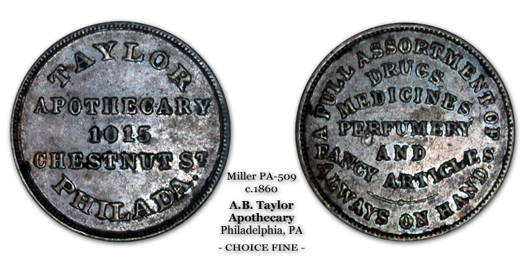 Alfred B. Taylor PA-509 Cupro Nickel