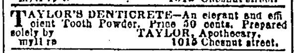 Alfred B. Taylor Denticrete